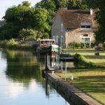 Im Oberwasser der Schleuse von Beaumoulin (Canal du Loing)
