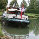 Aufgesessen – die Handbreit Wasser unter dem Kiel fehlt schmerzlich...