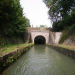 Eingang des Tunnels von Pouilly (Canal de Bourgogne)