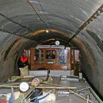 Es geht eng zu im Tunnel von Pouilly
