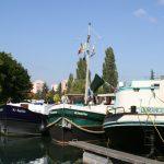 Im Hafen von Dijon