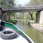 Constriction near Diou (Canal latéral à la Loire)
