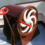 The anchor winch of «Weltevreden»
