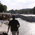 The Bellerive lock (Canal de la Sambre à l'Oise)