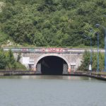 Entrance of the Canal du Nord tunnel