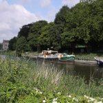 Veurne in Belgium (Canal de Furnes)