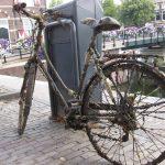 «Mussled» bike