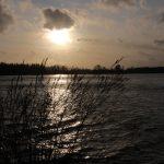 Sunset over the Rhine near Gorinchem