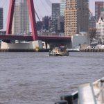 Einlaufen in Rotterdam