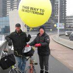 Mit Nell van Geijtenbeek in Rotterdam