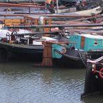 Historischer Hafen in Rotterdam
