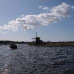 Auf der Ringvaart van de Haarlemmermeerpolder