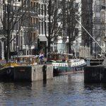 Liegeplatz in Amsterdam vor dem Carré-Theater