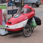 Aerodynamischer Fahrrad-Eigenbau