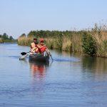 Mit dem Indianer-Kanu unterwegs in «De Weerribben»
