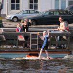 Alles geht – in Holland, auf dem Wasser