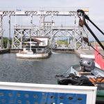 Hydraulisches Schiffshebewerk im Canal du Centre historique (Belgien)