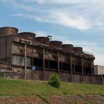 Kohlekraftwerk in Charleroi (Belgien)