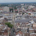 Blick vom Belfried auf Arras (Nordfrankreich)