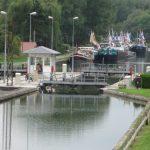Pont l'Évêque am Canal du Nord