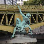 Seinebrücke in Paris