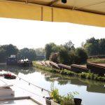 Kanalunterhalt bei Montargis (Canal de Briare)