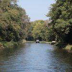 Auf dem Canal de Roanne à Digoin