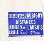 Schleuse Nr. 25 in Marseilles-les-Aubigny