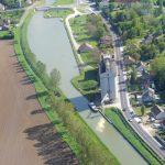 Les Fouchards (Canal latéral à la Loire) Flugfoto Käthi Ramel
