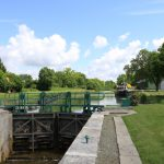 Schleuse an der Somme (Picardie)