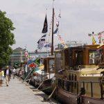 Treffen der Dutch Barge Organisation (Paris Bassin de la Villette)