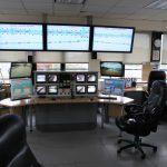 Kontrollzentrum für den Canal Saint Denis