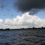 Wolken über dem Biesbosch (Niederlande)