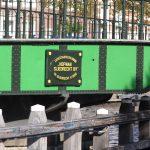 Restaurierte Drehbrücke in Haarlem