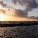 Dämmerung über dem Gooimeer (NL)