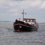 Begegnung mit MS Fenna auf dem Zwarte Meer (NL)