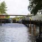 Schleuse auf dem Dortmund-Ems-Kanal