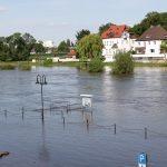 Weser-Hochwasser in Minden