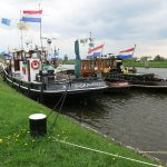 Treffen historischer Schlepper in Vianen (NL)