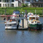 Yachthafen in Haren am Dortmund-Emskanal (D)