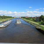 Der Mittellandkanal bei Haldensleben (D)