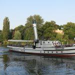Ausflugsschiff in Brandenburg