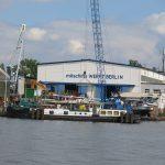 Die Mittschiffs-Werft in Köpenick