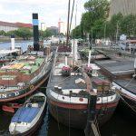 Der historische Hafen in Berlin