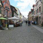 Einkaufsmeile in Waren (Müritz)