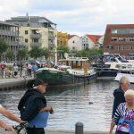 Im Stadthafen von Waren (Müritz)
