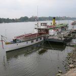 Die «Kaiser Wilhelm» bei Lauenburg an der Elbe
