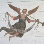 Engel im Kirchlein von Lärz