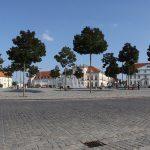 Marktplatz in Neustrelitz