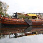 Nachbau der brandenburgischen Staatsyacht im Hafen Oranienburg